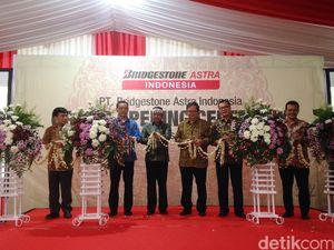 Bridgestone-Astra Otoparts Resmikan Pabrik Komponen di Purwakarta