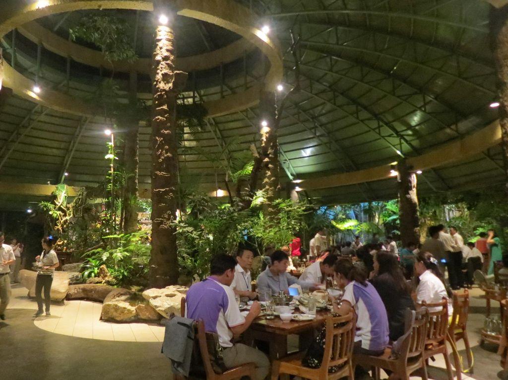 Seperti Hutan, Tahunya Restoran di Chiang Mai