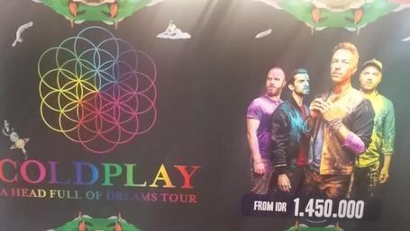 Serbu! Diskon Paket Wisata Coldplay Di Mega Travel Fair 2016