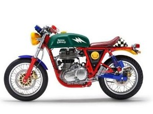 Warna-warni Royal Enfield Continental GT