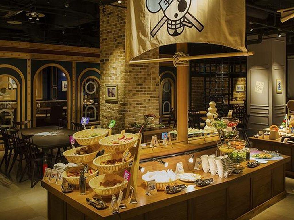 Keren! Ada Kafe dan Restoran Bertema One Piece di Jepang
