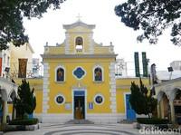Ini Kapel yang Fotogenik di Desa Kuno Macau