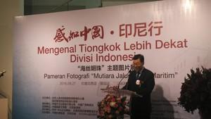 Kedubes Tiongkok Gelar Pameran Foto Mutiara Jalur Sutra Maritim di Jakarta