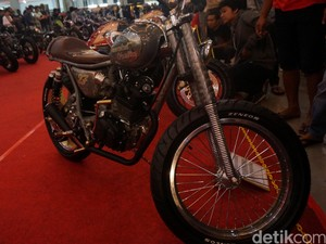 Karya Modifikator Motor Terbaik Unjuk Gigi di Kustomfest Yogyakarta