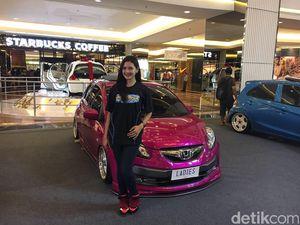 Honda Brio Pink, Ladies Banget