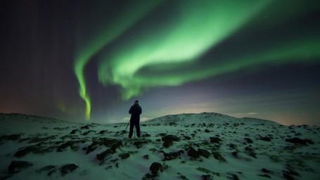 Oh Indahnya, Aurora Di Islandia