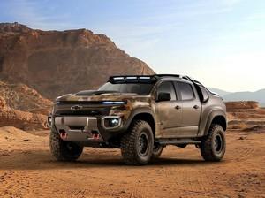 Chevrolet Mulai Uji Pikap Bertenaga Hidrogen untuk Misi Militer