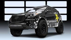 Modifikasi Radikal, Hyundai Santa Fe yang Siap Lahap Segala Medan