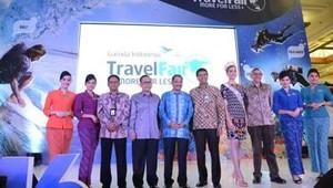 Garuda Travel Fair 2016 Resmi Dibuka oleh Menpar Arief Yahya