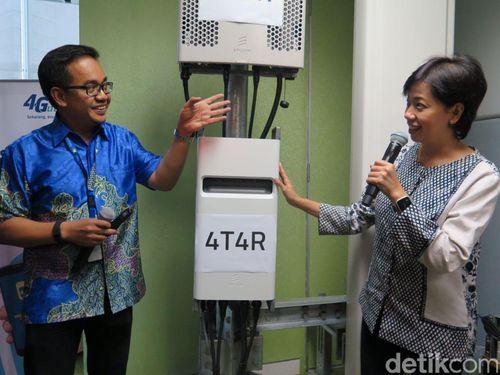 XL Gaet Ericsson dan Huawei Geber 4,5G di 4 Kota