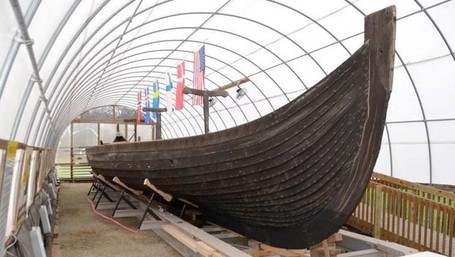 Bukan Di Eropa, Replika Kapal Viking Justru Ada Di Amerika