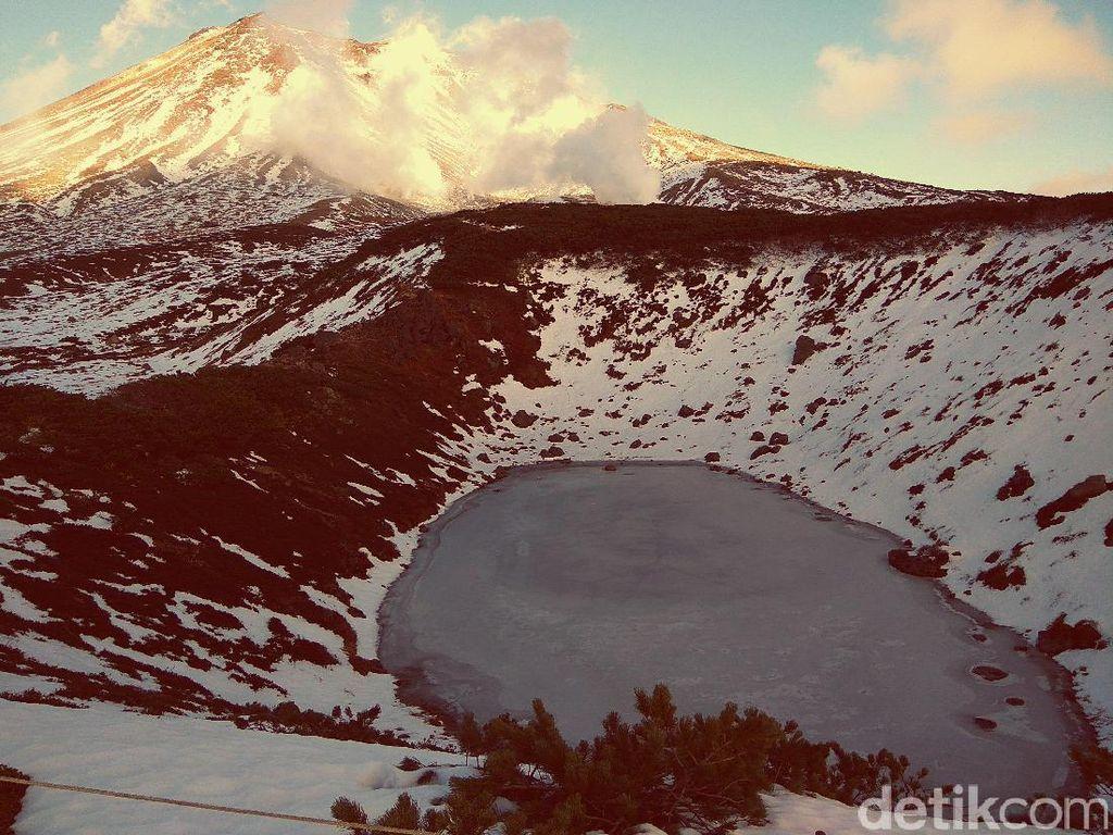 Ini Gunung di Hokkaido Saingannya Gunung Fuji