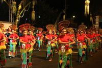 Banyuwangi Night Carnaval Festival Kuwung 2016 Tampilkan Kerukunan Etnis