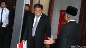 MK Tegaskan Tetap akan Adili Masa Jabatan Hakim Konstitusi