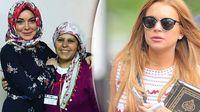 Happy Ramadan dari Lindsay Lohan