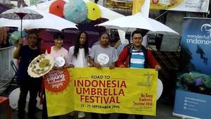 Wonderful Indonesia Meriahkan Festival Payung Bo Sang di Thailand