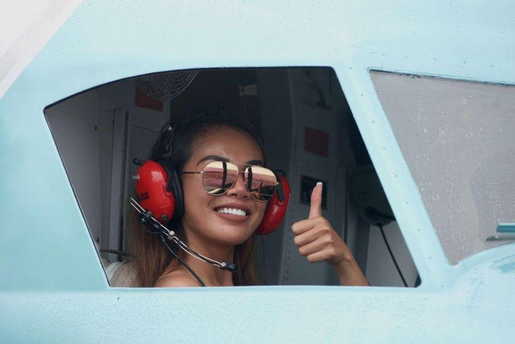 Momen dan Kata Terakhir Endah Cakrawati di Pesawat: Wish Me Luck