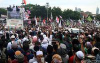 Rute Aksi 313, Salat Jumat di Istiqlal Kemudian Long March ke ke Istana