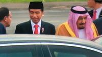 Jokowi dan Raja Salman Menuju Istana Bogor dengan Mobil Terpisah