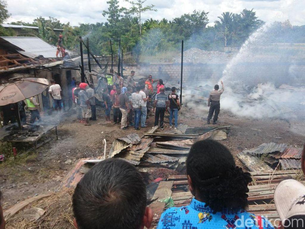 2 Balita Tewas karena Kebakaran Rumah di Sentani Jayapura