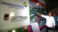 Skytrain Bandara Soetta Diuji Coba Jelang Lebaran
