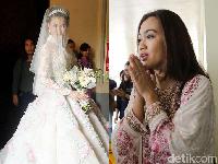 Olga Lydia Cantik di Hari Pernikahan, Keluarga Gelar Pengajian untuk Jupe