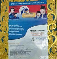 PNS Hingga Pengusaha Daftar Jadi Cabup Cirebon ke NasDem