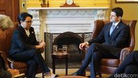 Bertemu Ketua DPR AS, Menlu Retno Bahas Investasi hingga Terorisme