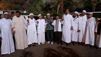 Foto Habib Rizieq Saat Dikunjungi Pengacara di Arab Saudi