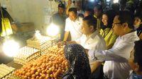 Novanto Sidak Pasar di Balikpapan Cek Harga Pangan Jelang Ramadan