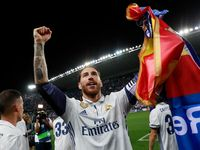 Pique dan Atletico Kena Ejek di Pesta Juara Real Madrid
