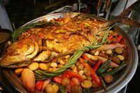 Selama Ramadan, Ada Ikan Amberjack Saus Lombok yang Gurih Pedas di Restoran Ini