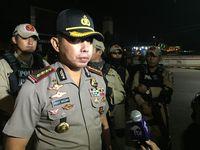 Operasi Gabungan Polres Jaktim, Petugas Amankan Motor Bodong