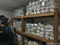 Penyelundupan Sabu 256 Kg di Pluit Dikirim dari China via Kapal Laut