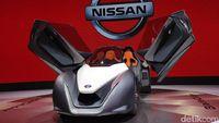 Cool! Nissan Perkenalkan Mobil Sport Futuristik BladeGlider