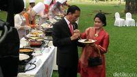 Cerita Jokowi soal Iriana yang Gemar Belanja Via 'Klak-klik'