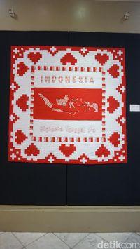 Pertama di Indonesia, Pameran Kain Nusantara Bernuansa Merah-Putih