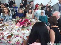 Dampingi JK di Sidang PBB, Mufidah Diajak Melania Trump Makan Siang