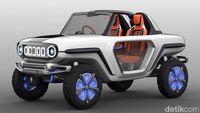 Permalink to Mobil Listrik Hasil Perkawinan Suzuki Jimny dan Vitara