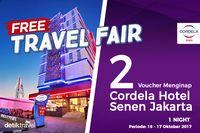 Permalink to #FreeTravelFair : Tidur Gratis di Cordela Hotel Senen