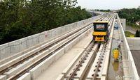 Permalink to Mantap, LRT Palembang Terus Dikebut Jelang Asian Games