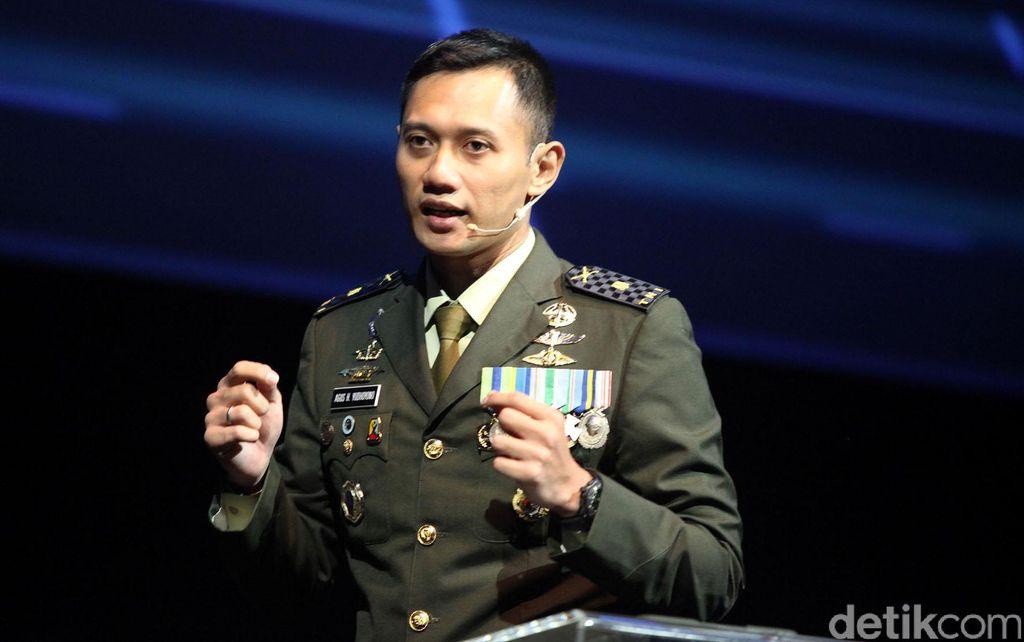 Agus Harimurti Yudhoyono waktu jadi prajurit TNI