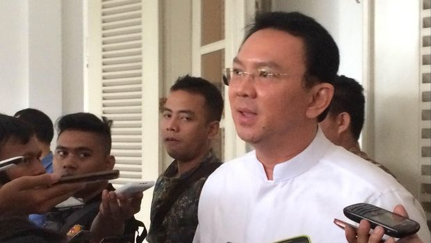 Mantan Gubernur DKI Jakarta Basuki Tjahaja Purnama