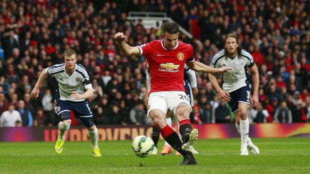 Robin van Persie bahkan sukses mencetak gol ke gawang Arsenal kala berseragam Manchester United.
