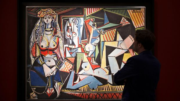 Picasso adalah sosok yang menginspirasi Farhad.