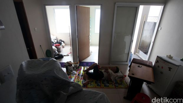 Penampakan Rusunawa Sekelas Apartemen untuk Warga Kampung Pulo