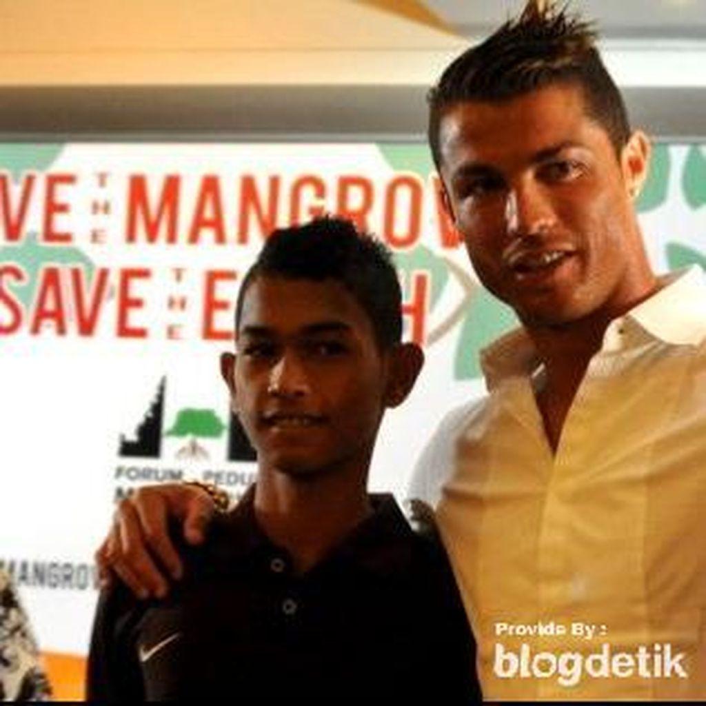 Beruntungnya Martunis Menjadi Anak Angkat Cristiano Ronaldo