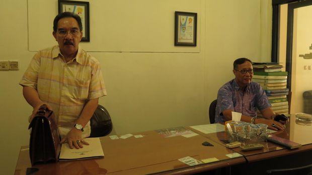 Antasari Azhar menjalani masa asimiliasi di kantor notaris Handoko Halim.