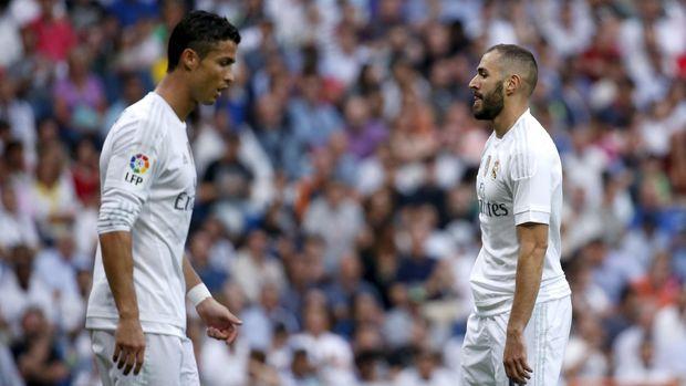 Karim Benzema menganggap wajar sikap egois Cristiano Ronaldo di Real Madrid. (