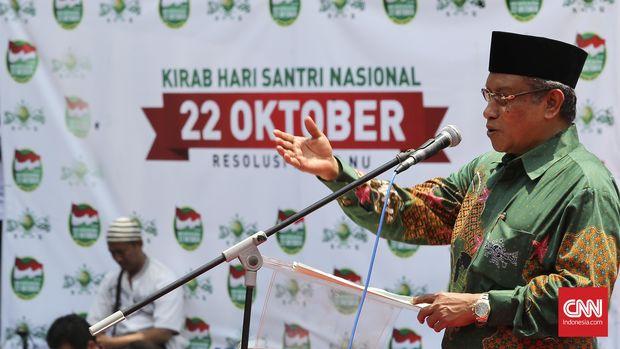 KH Said Aqil Siradj mengatakan, dengan ditetapkannya Hari Santri tidak akan membentuk polarisasi di masyarakat.